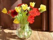 vazoda çiçek gönder